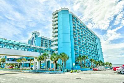 Myrtle Beach Condo/Townhouse For Sale: 1501 S Ocean Blvd. #717