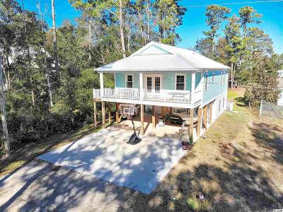 Murrells Inlet Single Family Home For Sale: 338 Oak Ave.