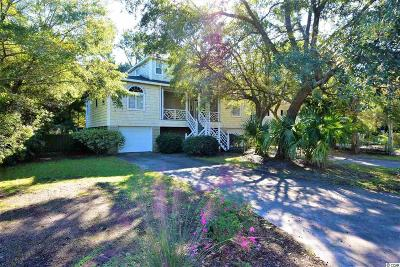 Pawleys Island Single Family Home For Sale: 318 Lakeshore Dr.