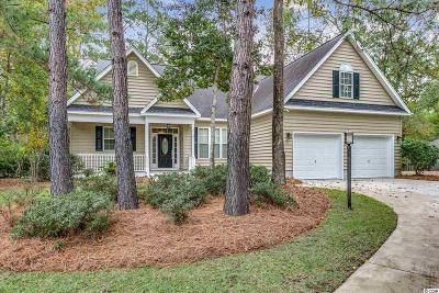 Pawleys Island Single Family Home Active W/Kickout Clause: 25 Miramar Ct.