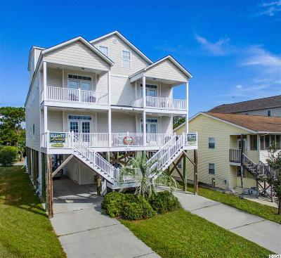 North Myrtle Beach Single Family Home For Sale: 4618 Surf St.