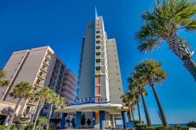 Myrtle Beach Condo/Townhouse For Sale: 1708 N Ocean Blvd. #801