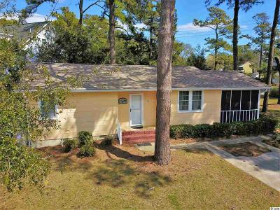 North Myrtle Beach Single Family Home For Sale: 508 46th Ave. S