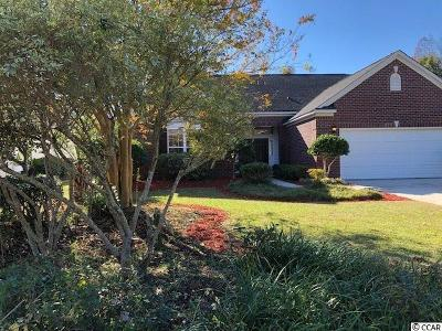 North Myrtle Beach Single Family Home Active Under Contract: 2711 Marsh Glen Dr.