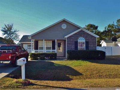 Murrells Inlet Single Family Home For Sale: 9840 Conifer Ln.