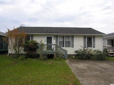 Murrells Inlet Single Family Home For Sale: 834 Keel Ct.