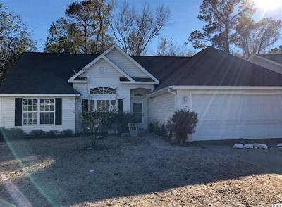 Myrtle Beach Single Family Home For Sale: 657 West Oak Circle Dr.