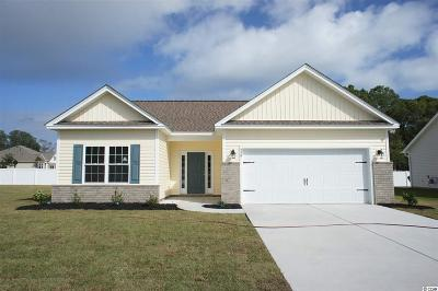 Surfside Beach Single Family Home For Sale: Tbd Lot 1 Obi Lane