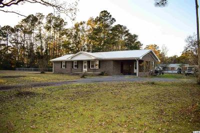 Georgetown Single Family Home For Sale: 85 Vereen Rd.