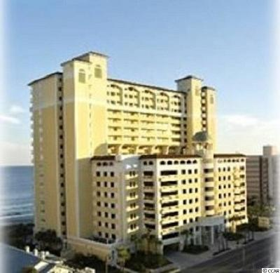 Myrtle Beach Condo/Townhouse For Sale: 2000 N Ocean Blvd. #1609