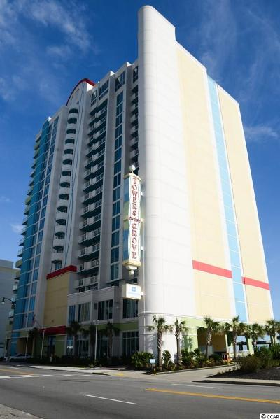 North Myrtle Beach Condo/Townhouse For Sale: 2100 N Ocean Blvd. #430