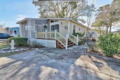 Surfside Beach Single Family Home For Sale: 379 East Lake Dr.