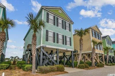 Garden City Beach Single Family Home For Sale: 154 Cypress Ave.