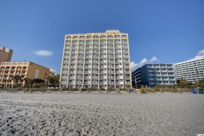 Myrtle Beach Condo/Townhouse For Sale: 1207 S Ocean Blvd. #21001