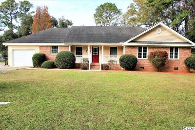 Georgetown Single Family Home For Sale: 475 Wraggs Ferry Rd.
