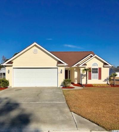 Myrtle Beach SC Single Family Home For Sale: $209,900