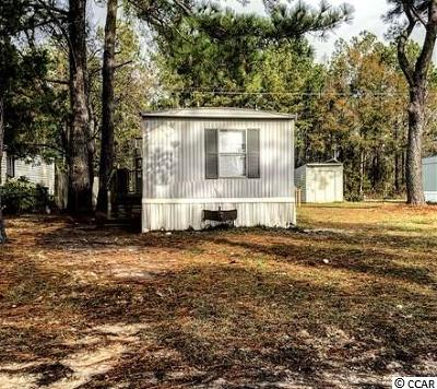 Myrtle Beach SC Single Family Home For Sale: $27,000