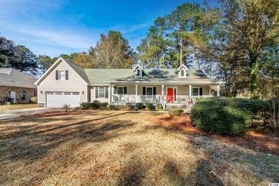 Murrells Inlet Single Family Home For Sale: 9500 Indigo Creek Blvd.