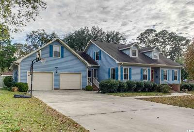 Myrtle Beach Single Family Home For Sale: 7602 Driftwood Dr.
