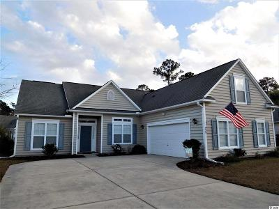 Murrells Inlet Single Family Home For Sale: 25 Riverbend Dr.
