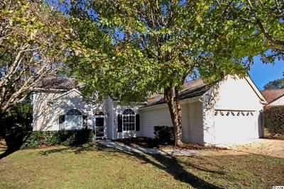 Murrells Inlet Single Family Home For Sale: 1482 Riceland Ct.