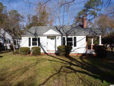 Florence Single Family Home For Sale: 1305 Cherokee Rd.
