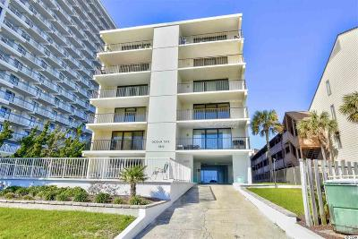 Myrtle Beach Condo/Townhouse For Sale: 5513 N Ocean Blvd. #4-S