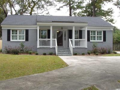 Georgetown Single Family Home For Sale: 1303 Heyward St.