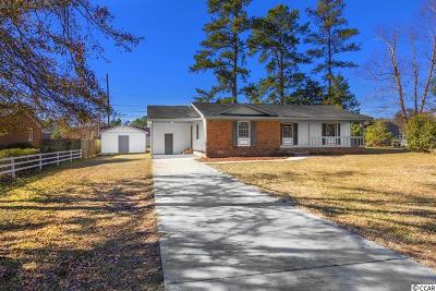 Conway Single Family Home For Sale: 3306 Longwood Ln.