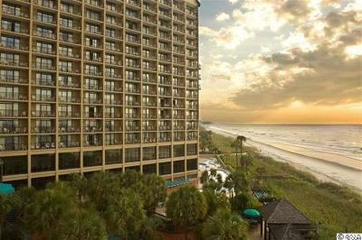 North Myrtle Beach Condo/Townhouse For Sale: 4800 S Ocean Blvd. #811