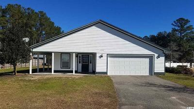 Conway Single Family Home For Sale: 2977 Old Reaves Ferry Rd.