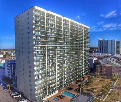 North Myrtle Beach Condo/Townhouse For Sale: 102 N Ocean Blvd. #1501