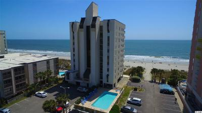 North Myrtle Beach Condo/Townhouse For Sale: 2609 S Ocean Blvd. #704