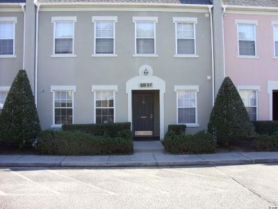 Georgetown County, Horry County Condo/Townhouse For Sale: 4591 Girvan Dr. #F