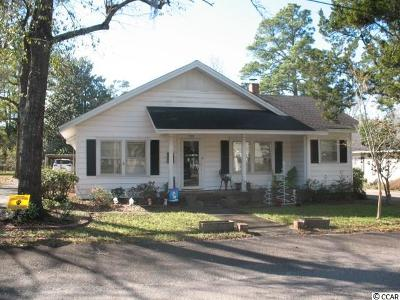 Conway Single Family Home For Sale: 705 Burroughs St.