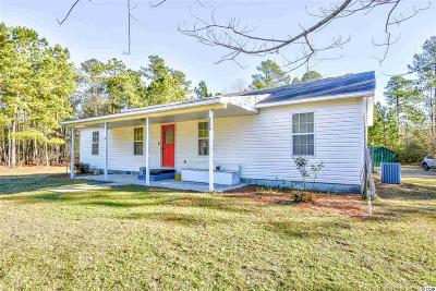 Loris Single Family Home For Sale: 1614 Hewitt Rd.