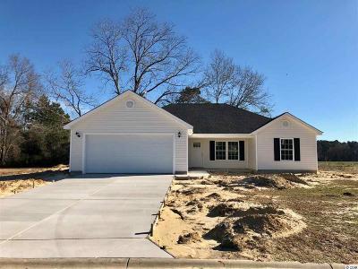 Loris Single Family Home For Sale: 137 Adelphia Rd.