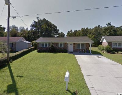 Myrtle Beach Single Family Home Active-Pending Sale - Cash Ter: 4723 White Pine Dr.