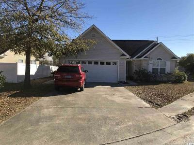 Murrells Inlet Single Family Home For Sale: 9648 Bradford Ln.