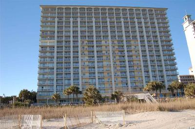 Myrtle Beach Condo/Townhouse For Sale: 2000 North Ocean Blvd. #809