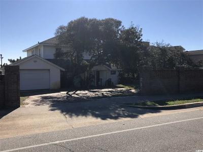 Georgetown County, Horry County Single Family Home For Sale: 3704 N Ocean Blvd.