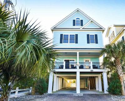Surfside Beach Single Family Home For Sale: 613 A N Ocean Blvd.