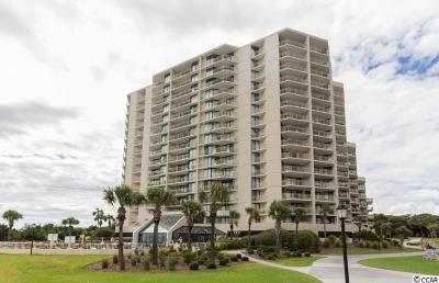 Myrtle Beach Condo/Townhouse For Sale: 101 Ocean Creek Dr. #CC-8 TS