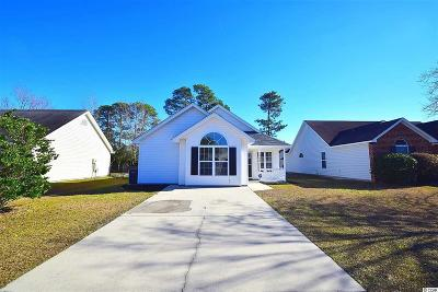 Surfside Beach Single Family Home For Sale: 1609 Broken Anchor Way