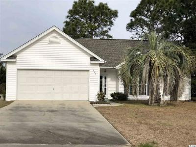 Surfside Beach Single Family Home Active Under Contract: 1405 Destin Ct.