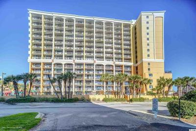 Myrtle Beach Condo/Townhouse For Sale: 6900 N Ocean Blvd. #1513