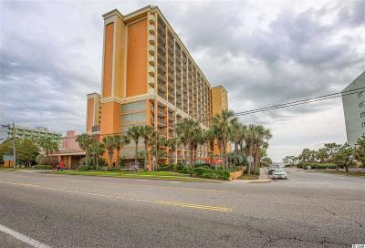 Myrtle Beach Condo/Townhouse For Sale: 6900 N Ocean Blvd. #1243