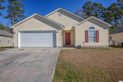 Murrells Inlet Single Family Home For Sale: 9768 Conifer Ln.