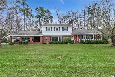 Galivants Ferry Single Family Home For Sale: 1384 Bud Graham Rd.