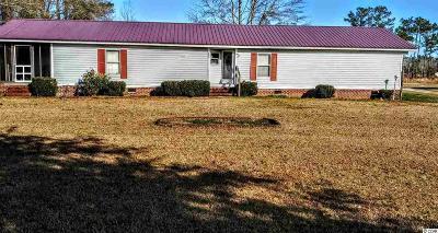 Loris Single Family Home For Sale: 3300 Bethel Chapel Rd.
